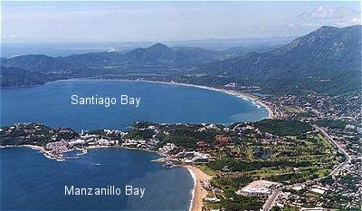Santiago and Manzanillo Bay